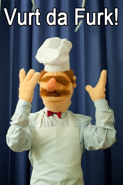 Swedish Chef Vurt Da Furk